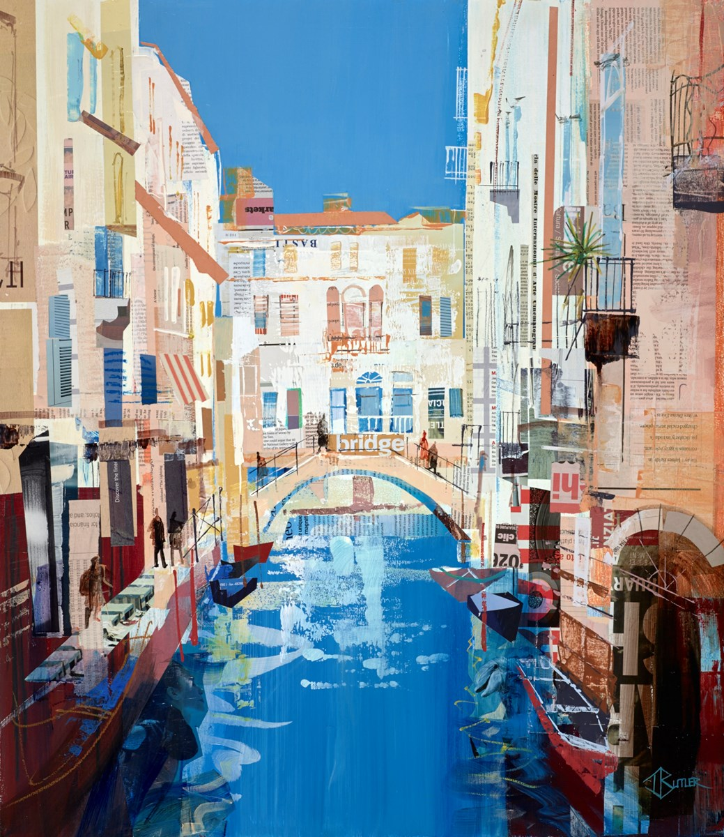 Venezia Luminosa by tom butler -  sized 26x30 inches. Available from Whitewall Galleries
